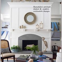 Che Bella Interiors Blog: Fireplace Design & Why You Should Use a Professional Interior Designer.