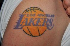 Laker tattoo idea.