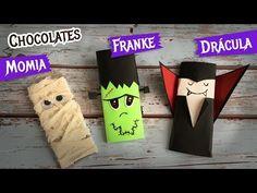3 Chocolates Disfrazados Momia Frankie Drácula - YouTube