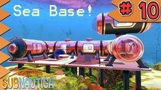 Subnautica Let's Play Ep 10: Building A Base - MyDiamondSkeleton!