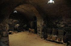 El Castell de les Pallargues: La bodega
