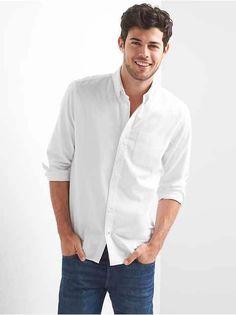 Men:Casual Shirts |gap