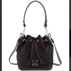 HP! Jetsetter drawstring crossbody in Black! Henri Bendel Jetsetter drawstring crossbody in Black, sold out! Black on black with purple inside. This is currently sold out on the Henri Bendel website. Retails for $228. Comes with dustbag, tags, and copy of original receipt. Price firm. No trades! This was only carried twice! (Two days!) henri bendel Bags Crossbody Bags