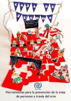 """Echa un vistazo a mi proyecto @Behance: """"Proyecto de ilustración """"Caja de Juegos"""""""" https://www.behance.net/gallery/64756651/Proyecto-de-ilustracion-Caja-de-Juegos"""