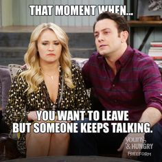 Hang in there, Gabi! | Young & Hungry