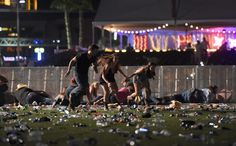 """""""Beyond horrific""""  At least 50 dead in Las Vegas massacre - At least 50 people died and 200 were injured after a gunman opened fire from a hotel room looking down on an outdoor country music festival in Las Vegas Sunday. The incident — which happened outside the Mandalay Bay Resort and Casino at 10 p.m. local time — is […]"""