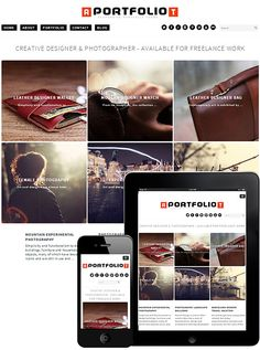 Portfolio Free Theme WordPress