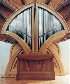 Gross Orgelbau, Opus 4, 1998; Hofnungskirche, Magdeberg, Germany; II/16