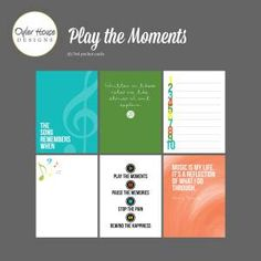 Free Play The Moments Journal Cards | Oyler House