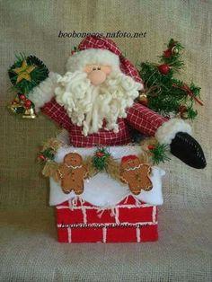 Noel na chaminé