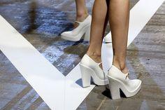 b0387dbb130bb Feeding my Wang obsession Fashion Communication, White Pumps, White Shoes,  Paris Chic,