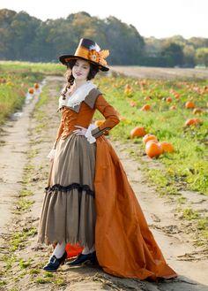 Making an Century Redingote – Angela Clayton's Costumery & Creations 18th Century Dress, 18th Century Costume, 18th Century Clothing, 18th Century Fashion, 19th Century, Historical Costume, Historical Clothing, Vintage Outfits, Steampunk