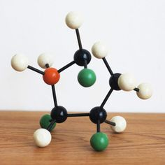 "Nothing says ""mid-century modern"" like Molecular Models now featured on Fab."