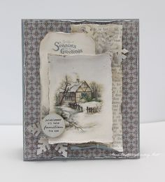 CHRISTMAS CARD by Anne's Paper Fun (Anne Kristine Holt)