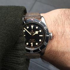 HODINKEE watch I wore most in 2015, Tudor Heritage Black Bay Black