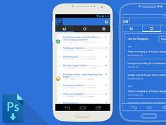 Samsung Galaxy S4 Mockup + Wireframe