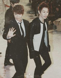 Donghae and Eunhyuk #superjunior #eunhae