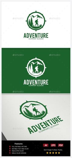 Adventure - Logo Design Template Vector #logotype Download it here: http://graphicriver.net/item/adventure-logo/10237586?s_rank=1653?ref=nesto