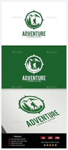 Adventure - Logo Design Template Vector #logotype Download it here: http://graphicriver.net/item/adventure-logo/10237586?s_rank=1653?ref=nesto