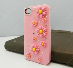 iphone 5 case  Small  Pearl  sunflowers case pink by dnnayding, $16.99