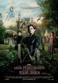 Miss Peregrine's Home for Peculiar Children 2016 BRRip 480p Dual Audio 300Mb