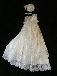Angela West Christening gown set