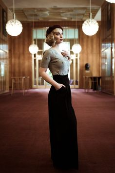 Learn how to style your on #1930s look own http://vintagemaedchen.de/1930s-makeup/. Picture by Kristian Scheffler, clothing by Topvintage and model is Vintagemaedchen by Victoria.