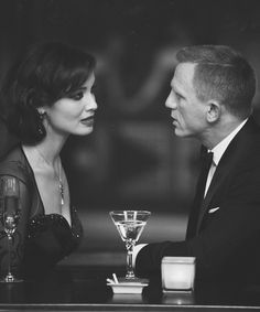 James Bond. Skyfall  I think they would of made a great couple.