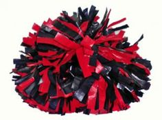Red and Blue Pom Pom