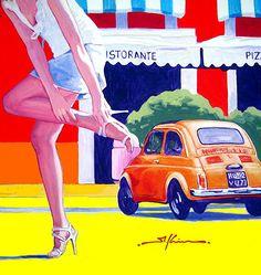 FIAT 500 colours