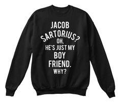 Jacob Sartorius Is My Boyfriend Sweater | #jacobsartorius #sartorius