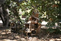 9) the fairy castle and the fairy treehouse by isabellalovedparis, via Flickr