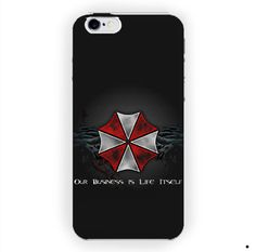 Umbrella Resident Evil Custom For iPhone 6 / 6 Plus Case