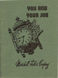 Old Marshall Field employee handbook