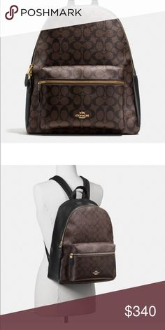 Nwt coach backPack Takes a week to ship new with tags Coach Bags Backpacks