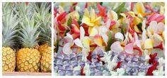 Kauai farmers markets leis and pineapples