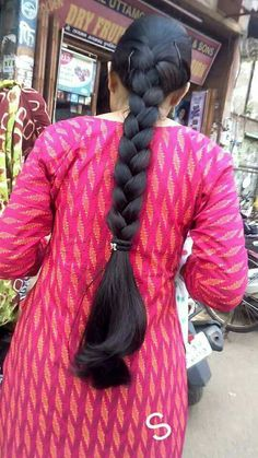 Long Silky Hair, Silky Smooth Hair, Long Black Hair, Super Long Hair, Long Hair Indian Girls, Indian Long Hair Braid, Braids For Long Hair, Indian Hairstyles, Loose Hairstyles