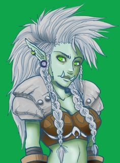 Female troll by ~queen-zombie on deviantART