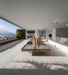 Dream House Interior, Luxury Homes Dream Houses, Dream Home Design, Modern House Design, Home Interior Design, Interior Livingroom, Interior Ideas, Future House, Studio Arthur Casas