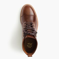 Shop the Kenton Leather Cap-Toe Boots at JCrew.com and see our entire selection of Men's Boots.