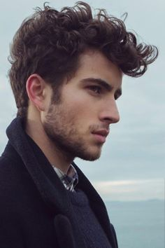 Hairstyles For Men With Curly Hair Hair Styles Quiff Hairstyles, Hipster Hairstyles, Boys Long Hairstyles, Popular Hairstyles, Haircuts For Men, Cool Hairstyles, Haircut Men, Latest Hairstyles, Male Curly Hairstyles
