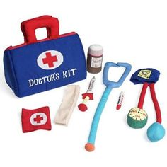 Doctor's Kit Soft Toy