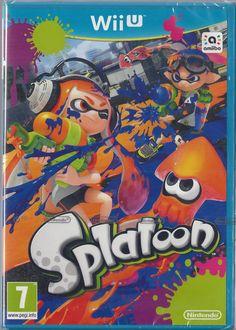 NINTENDO Wii U Splatoon  BRAND  NEW