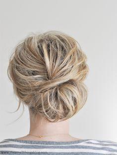 30 chignon Hairstyles for Spring Wedding 1 - I Take You | UK Wedding Blog | Wedding Ideas