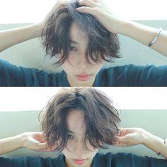 高橋 忍さんのヘアカタログ | 大人かわいい,外国人風,パーマ,ショートヘア,伸ばしかけ | 2016.02.28 00.08 - HAIR