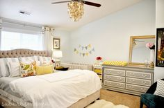baby room in master bed - Google Search