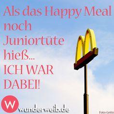 Als das Happy Meal noch Juniortüte hieß... ICH WAR DABEI!