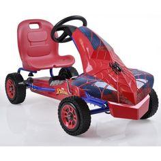 Marvel Spider-man Pedal Go Kart Ride on Toys Riding Outdoor Toddler Boys for sale online Kids Ride On, Kids Bike, Superman Bedroom, Go Kart Racer, Pokemon Birthday, 5th Birthday, Ride On Toys, Christmas Toys, Christmas 2019