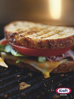 This recipe for a gloriously grilled H.A.T. sandwich features ham, crisped asparagus, fresh tomato and melty Colby Jack cheese. Bow down B.L.T.... you have just been replaced.