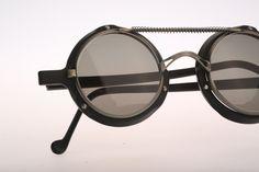 Sun Boy SB-05 / 90s occhiali da sole Vintage / NOS / pazzo progettista occhiali steampunk